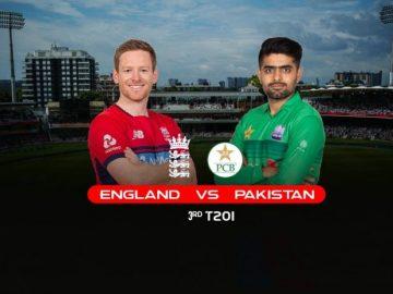 Eng vs Pak 3rd T20 Live Score