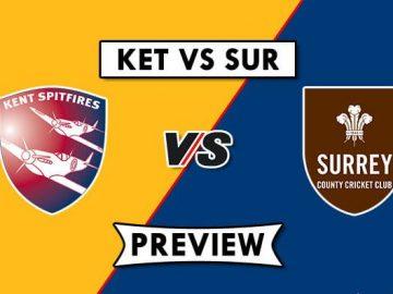 KET vs SUR Live Score