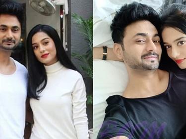 Amrita Rao & RJ Anmol