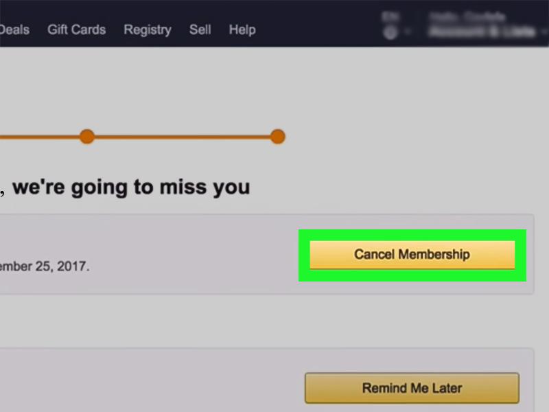 How Do I Cancel Amazon Prime