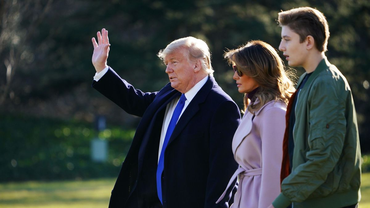 How Tall Is Barron Trump