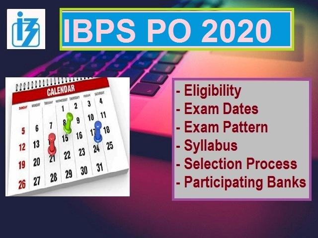 IBPS PO Exam 2020