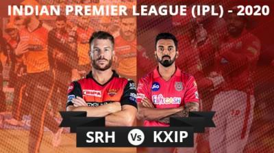 SRH vs KXIP 2020