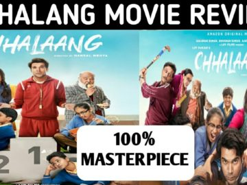 Chhalaang Movie Review