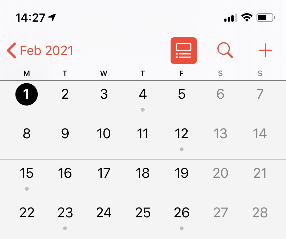How Many Days Are There In February 2021