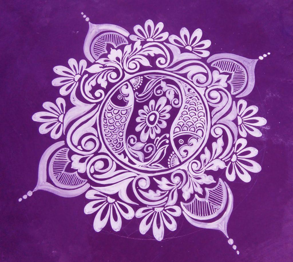Latest Rangoli Designs For Diwali