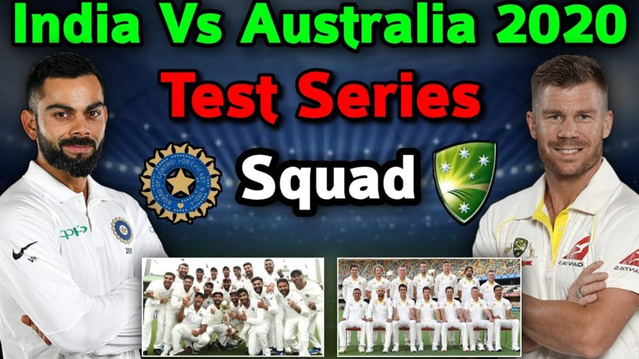 India Test Squad Against Australia 2020