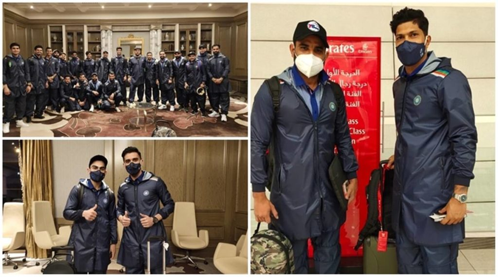Indian Cricket Players Under Isolation