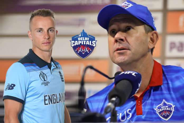 Tom Curran Delhi Capitals