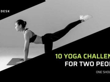 10 Yoga Challenge For Two People