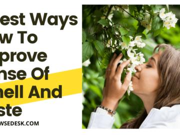 How To Improve Sense Of Smell