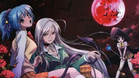 Witch Anime - Rozario to Banpaia / Rosario + Vampire