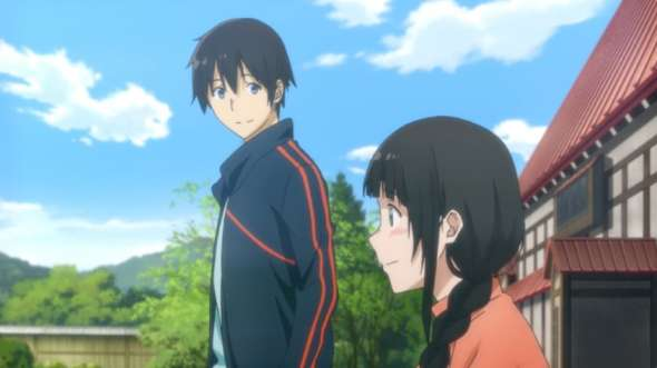 Witch Anime - Flying Witch