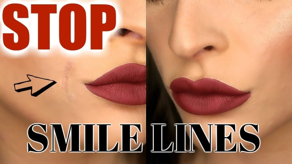 How To Get Rid of Smile Lines with Makeup
