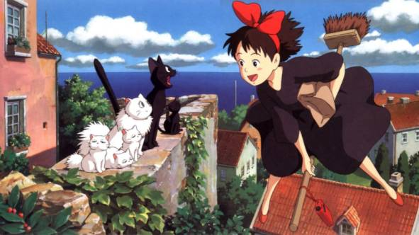 Witch Anime - Kiki's Delivery Service