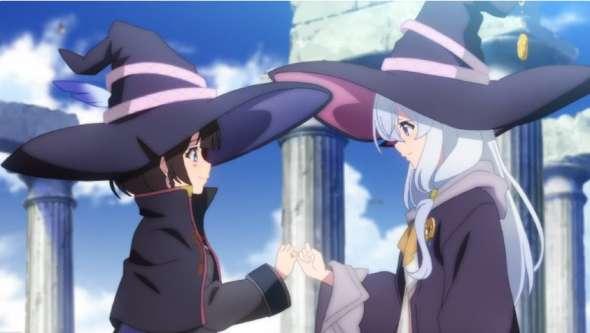 Witch Anime - Majo no Tabitabi / Wandering Witch: The Journey of Elaina