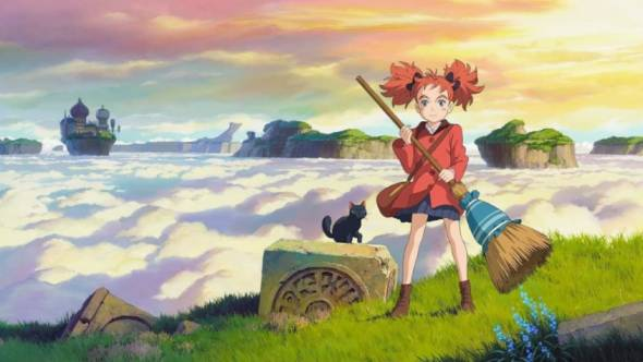 Witch Anime - Mary and the Witch's Flower